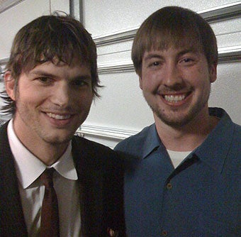 Ashton Kutcher Finds His Muse In Kyle Orton