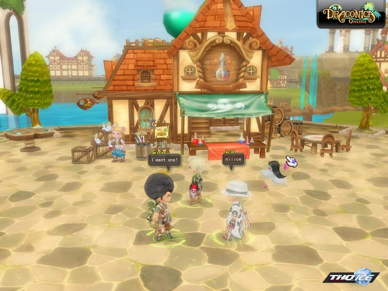 THQ Enters Chinese Import Scene With Dragonica Online