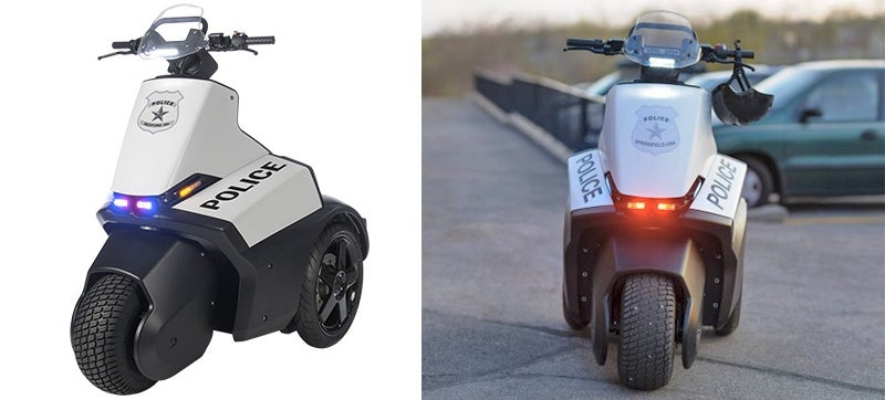 Segway Trike Manages to Defeat the Whole Purpose of Segway