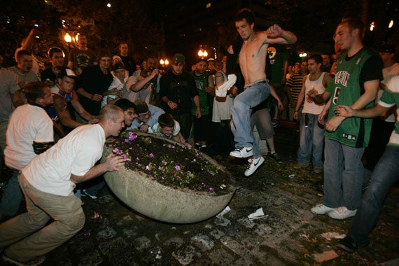 Boston Just Can't Get Enthusiastic About Sports Rioting Anymore