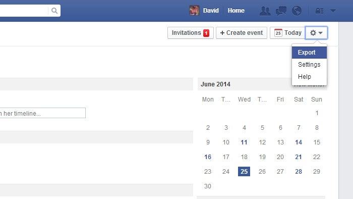 Export Facebook Events to Your Default Calendar App