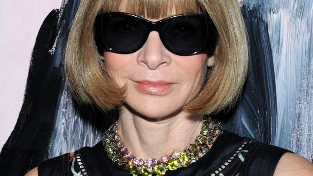 Um, Anna Wintour Did the Ice Bucket Challenge and Her Hair Got Wet