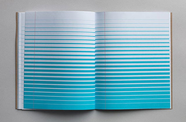 Write Way Outside the Lines With This Trippy Ruled Notebook
