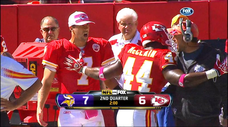Todd Haley Storms The Cassel: Your Sunday NFL Roundup
