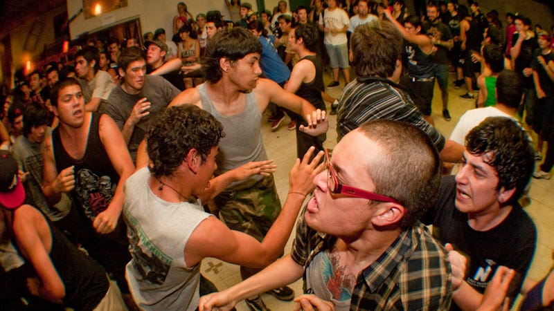 Mosh Pit Physics Reduces Humanity to a Gas