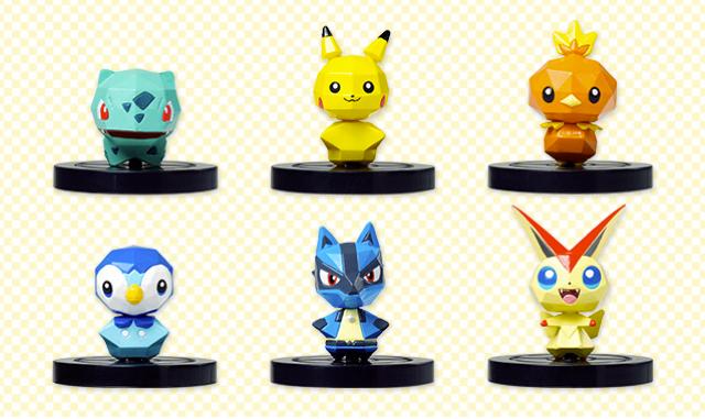 Those Scannable Pokémon Wii U Figures Finally Revealed!