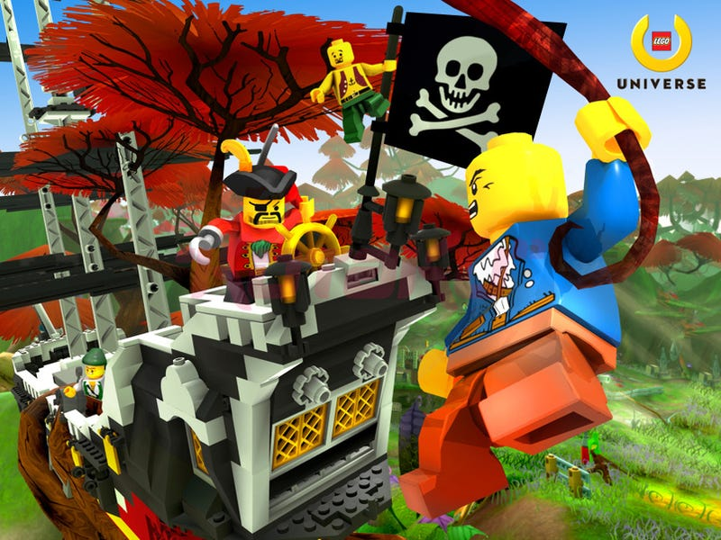 LEGO Universe Won't Arrive This Year