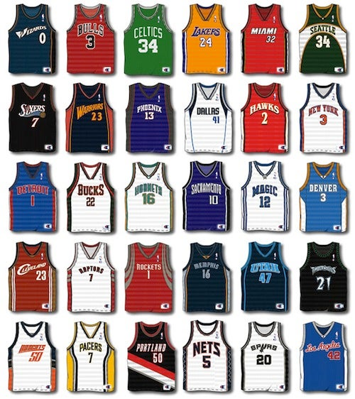 Ready Or Not, Here Come Ads On NBA Jerseys