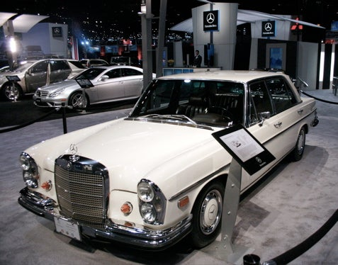 Chicago Auto Show: 1969 Mercedes 300SEL 6.3 Turns Us Into Dragons