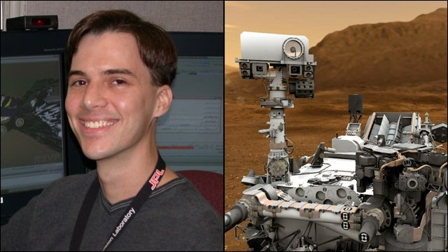 Meet The Man Who Drives A Rover On Mars