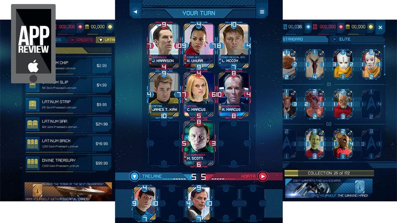Space... The Final Fantasy Card Game... This Is Star Trek Rivals.