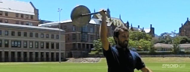 Is this anti-gravity wheel a magic trick or just cool physics?