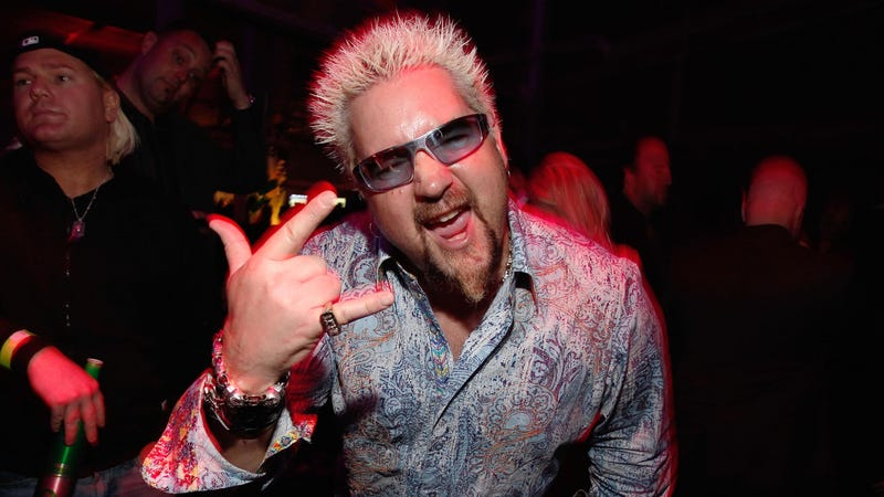Guy Fieri's New Menu Offers a 52-oz Bloody Mary Garnished with Sausage