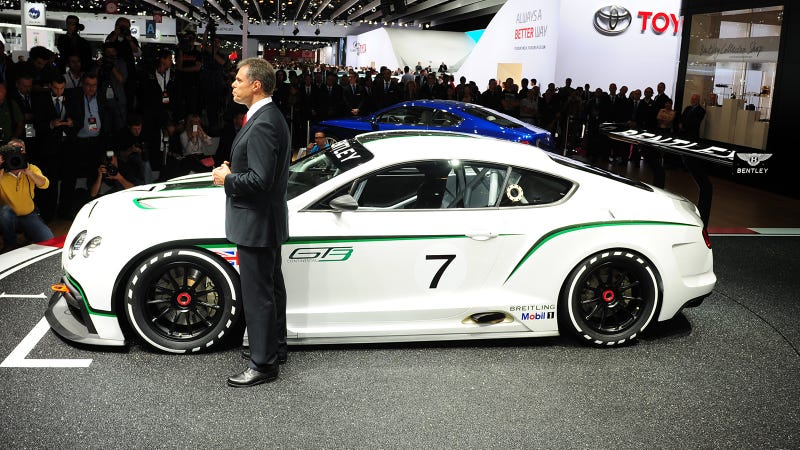 Bentley Continental GT3: More Photos Of The Flying B's LeMans Racer