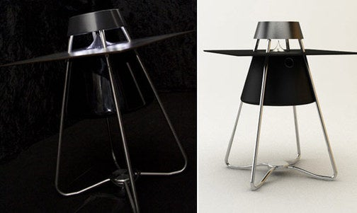 Cox Speaker Table Combines Two Items, Ruining Both