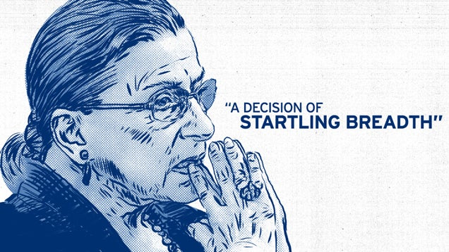 A Treasury of Justice Ginsburg's Real Talk In Her Hobby Lobby Dissent