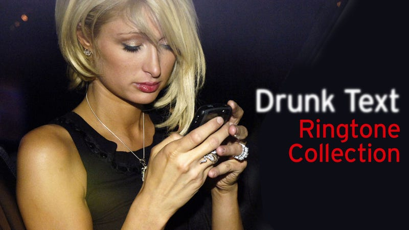 The Paris Hilton 'Drunk Text' Ringtone Collection