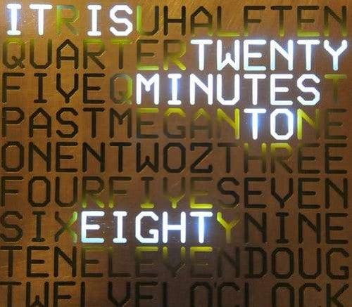 Build a Wallclock that Displays Time in Plain English