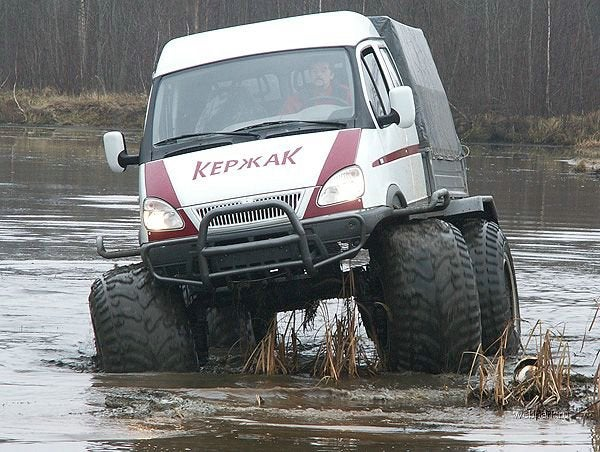 In Russia, Monster Van Saves YOU!