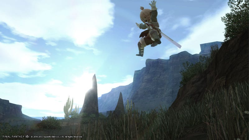 Wow, Final Fantasy XIV, You've Changed