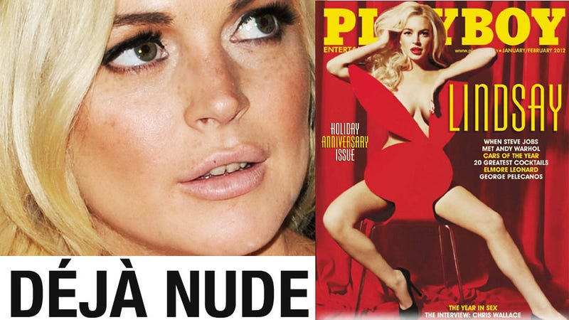 Lindsay Lohan's Playboy Pictures Are a Letdown