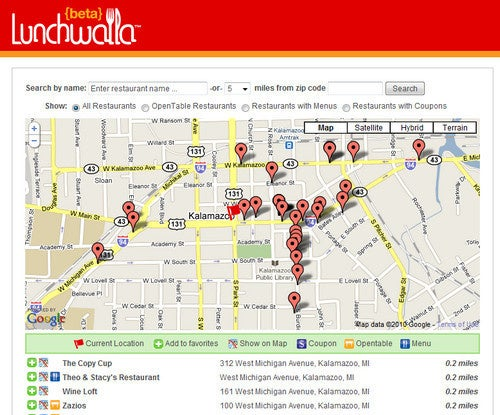 Lunchwalla Makes Lunch Spot Selection Simple