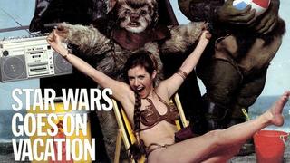 That time Princess Leia went to Cancun on spring break...