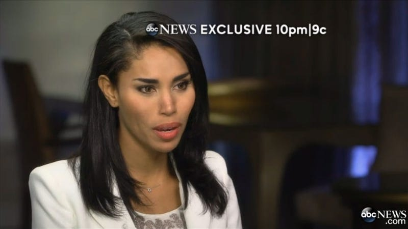 V. Stiviano Sat Down With Barbara Walters and It Got Weird