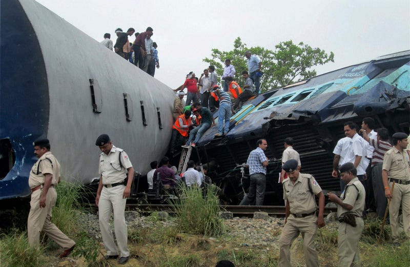 30 Feared Dead, 50 Injured In Passenger Train Crash In Northern India