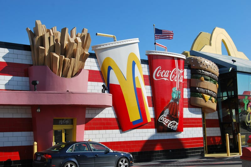 The Basic Inescapability of Fast Food for Kids