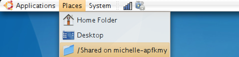 Mount a Windows shared folder in Linux