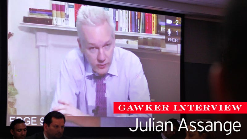 A Conversation With Julian Assange