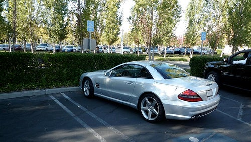 The Mystery of Steve Jobs' Plateless Benz