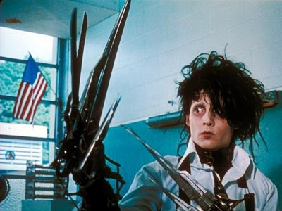 Robert Pattinson playing Edward Scissorhands? We'd rather have Johnny Depp put our eyes out.