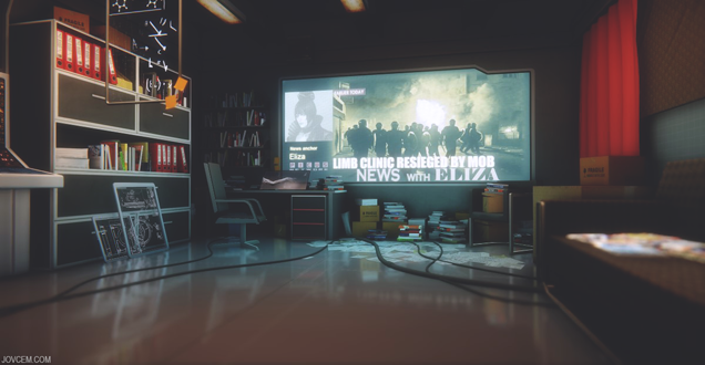 Deus Ex: Human Revolution's Starting Area, Recreated In CryEngine