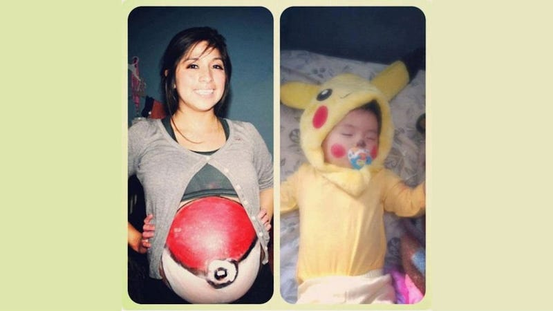 Pokéball Cosplayer Gives Birth To Pikachu And It's Only Slightly Creepy