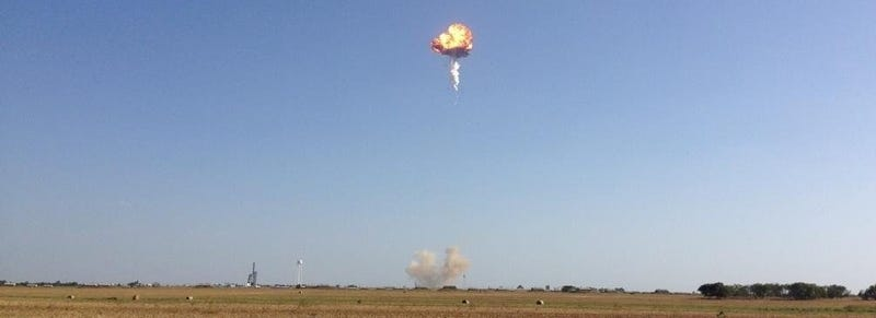 SpaceX Blows Up Their Own Rocket In Texas