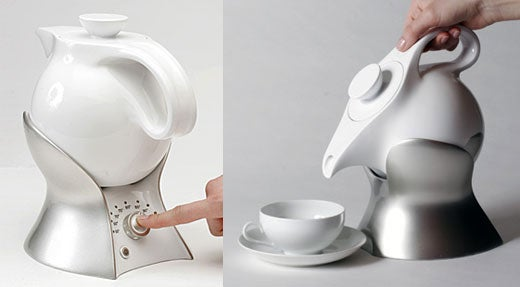 Lazy Teapot is an Accomplice for Your Slothful Ways