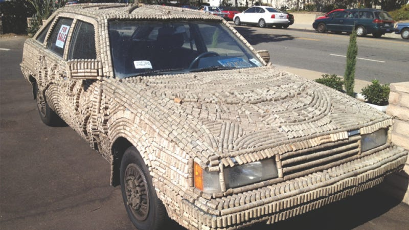 Now You, Too, Can Own The Cork Car Of Los Angeles