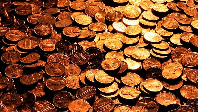 Make a penny disappear with water