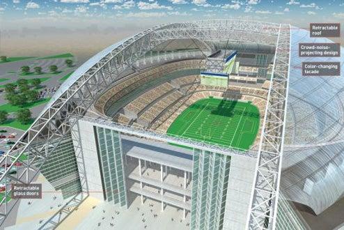 The Stadium of the FUTURE...Future...future