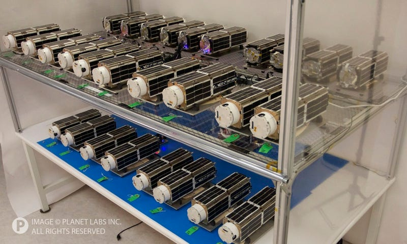Meet the Flockers: ISS Launches Low-Cost Earth-Imaging Micro-Satellites