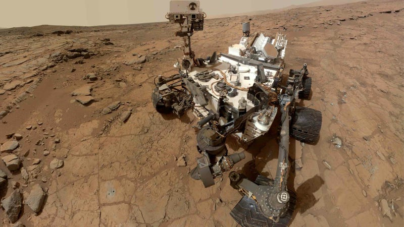 Guys Driving Mars Rover 'Curiosity' Keen To Hit Martian Sand Dune