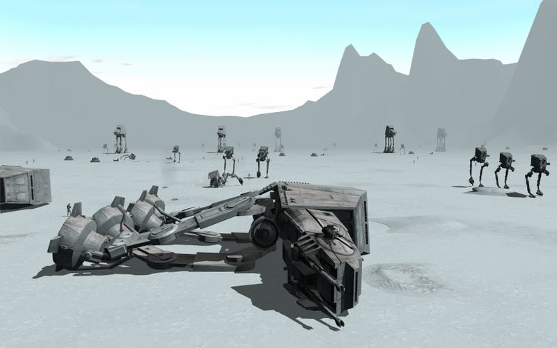 Latest SWG Update Adds Epic Hoth Battles