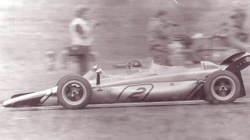 In 1971, Lotus Raced A Four-Wheel Drive F1 Car Powered By An Airplane Engine