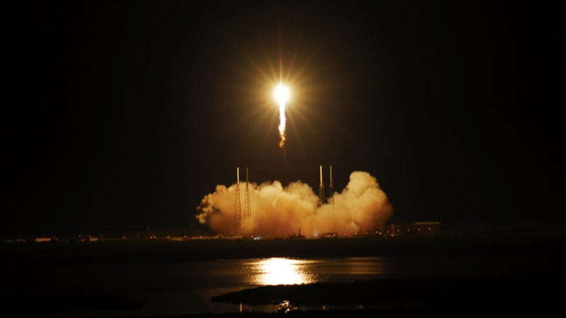 SpaceX Takes Flight