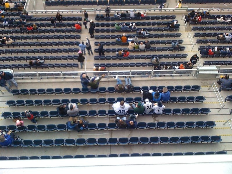 Hey, Those Seats In The New Yankee Stadium Look Comfortable