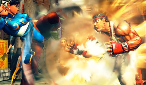 Street Fighter IV Console Debut At Leipzig GC!