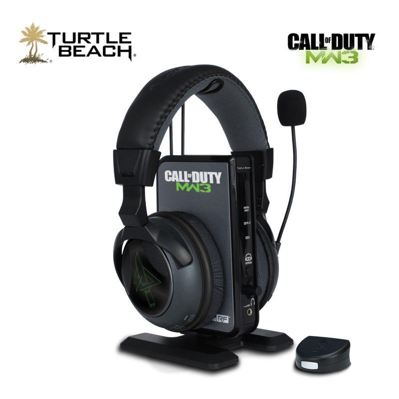 You've Got Modern Warfare 3 in My Turtle Beach Headsets