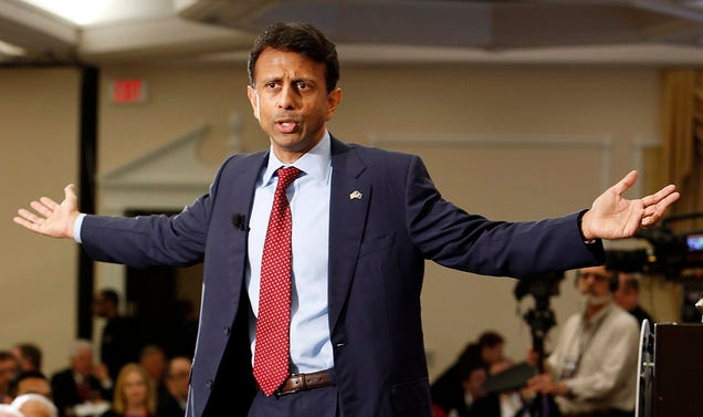 Louisiana Governor Bobby Jindal and budget crisis